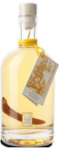 Grappa alla genziana Villa Laviosa | Distilleria Alto Adige