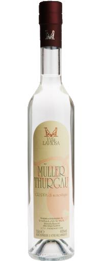 Grappa Müller Thurgau Villa Laviosa | Brennerei Destillerie Südtirol