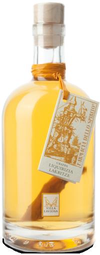 Grappa alla liquirizia Villa Laviosa | Distilleria Alto Adige
