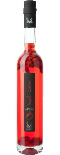 Liquore fragola con fragoline di bosco Villa Laviosa | Distilleria Alto Adige
